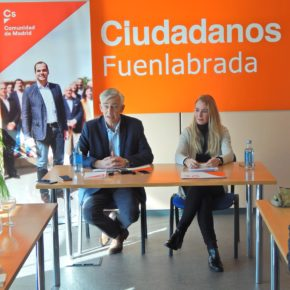 """Rubio: """"Fuenlabrada merece tener un 'búho' directo que conecte la ciudad con el centro de Madrid"""""""