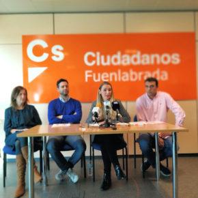 Ciudadanos (Cs) Fuenlabrada reprocha al gobierno que se ponga a trabajar a tres meses de las elecciones