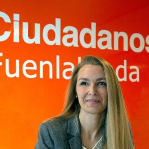 Ciudadanos (Cs) Fuenlabradapresenta su lista para las elecciones del 26 de mayo, encabezada porPatricia de Frutos